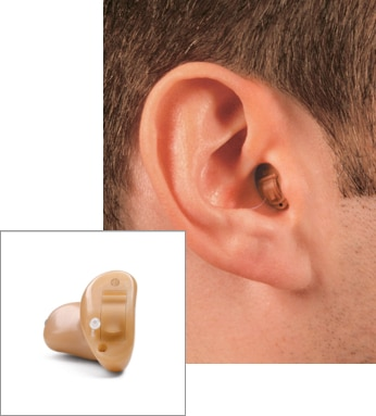 Completely-in-the-Canal hearing aid